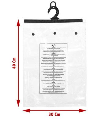 PVC SNAP BAGS 30x40x2.5cm
