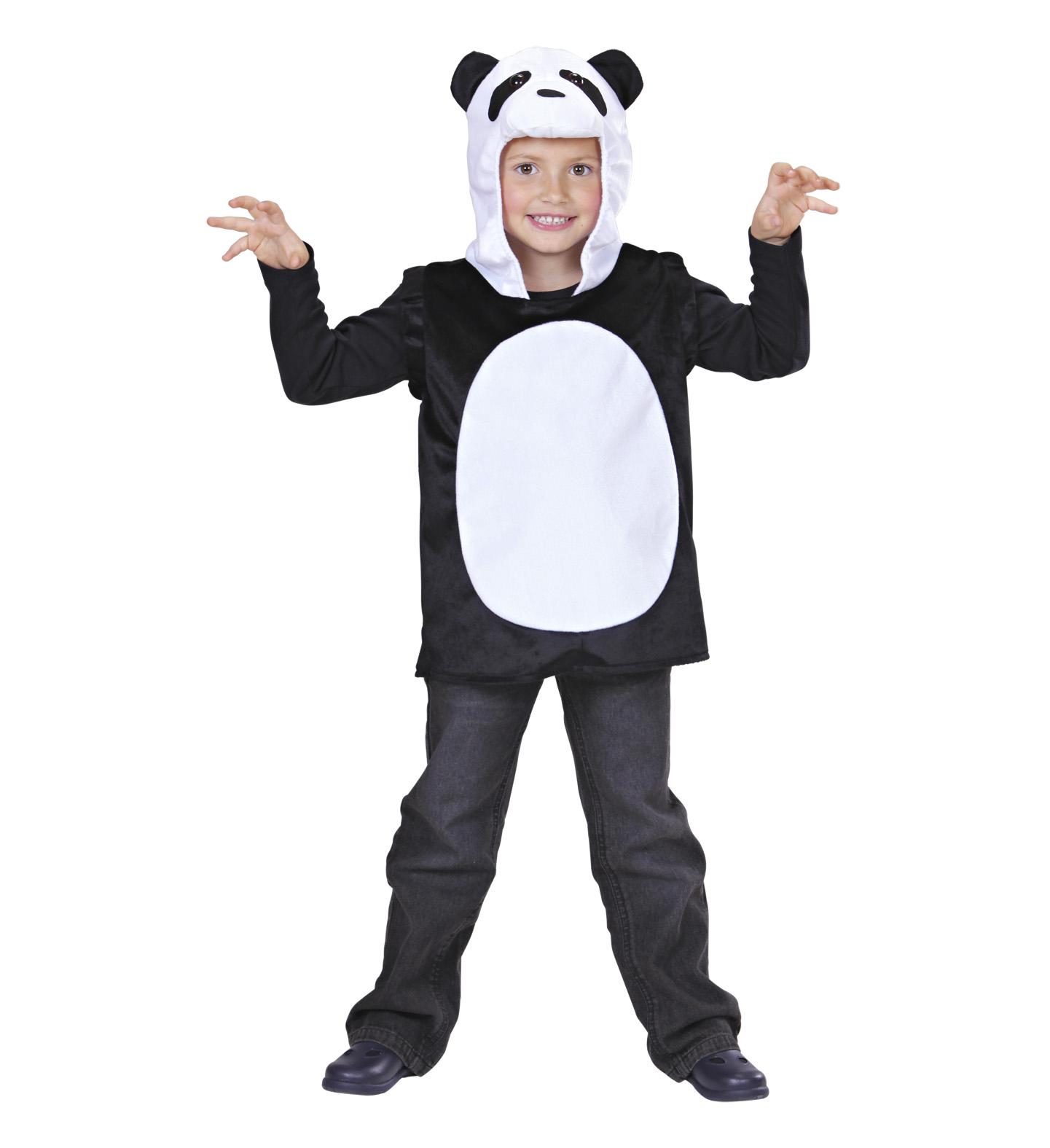 Toddler Panda Hooded Vest Costume Animal Fancy Dress