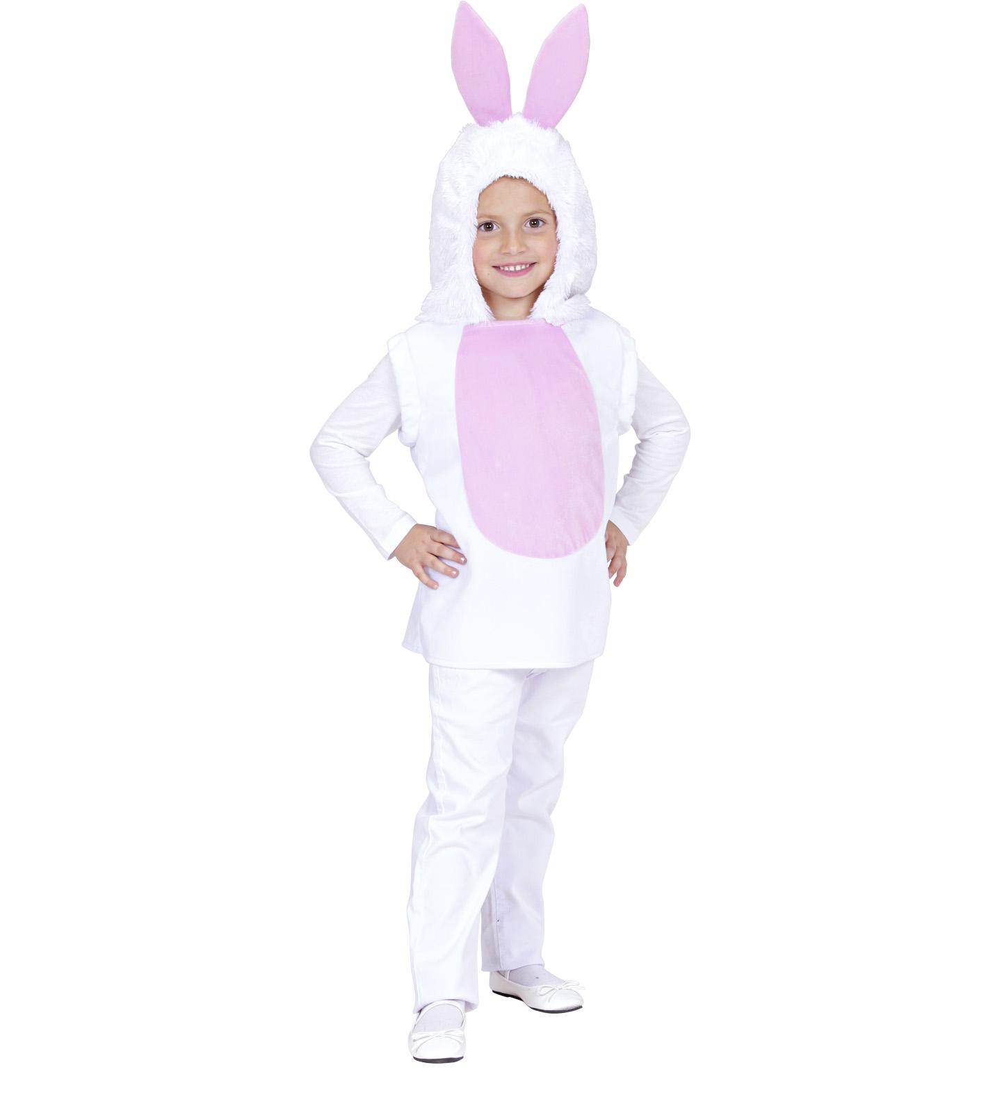 Toddler Bunny Hooded Vest Costume Animal Fancy Dress