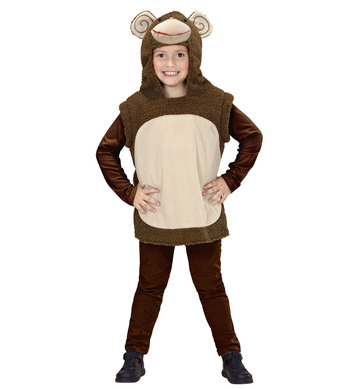 MONKEY HOODED VEST (113 cm/134 cm)