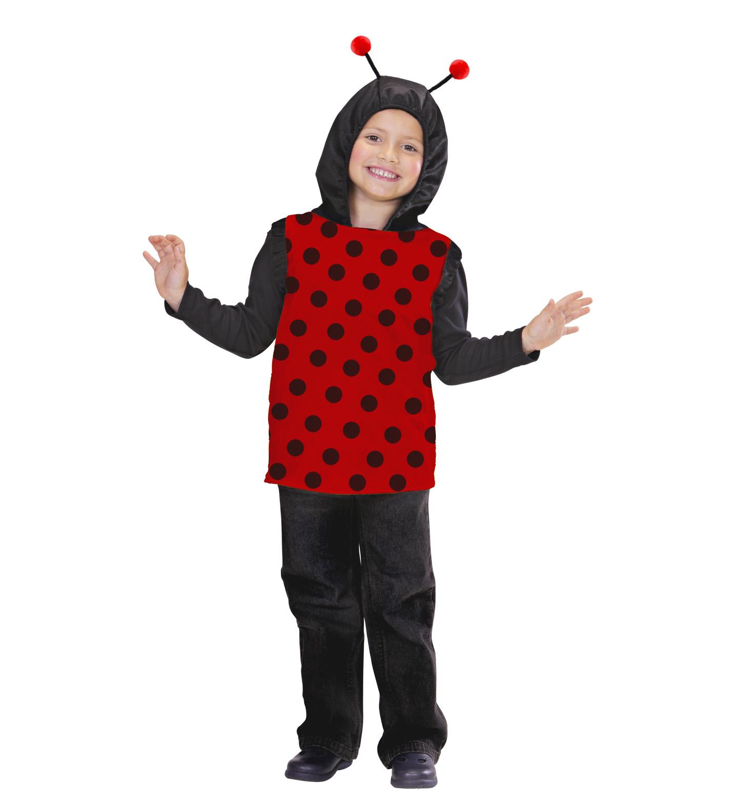 Toddler Ladybug Hooded Vest Costume Animal Fancy Dress