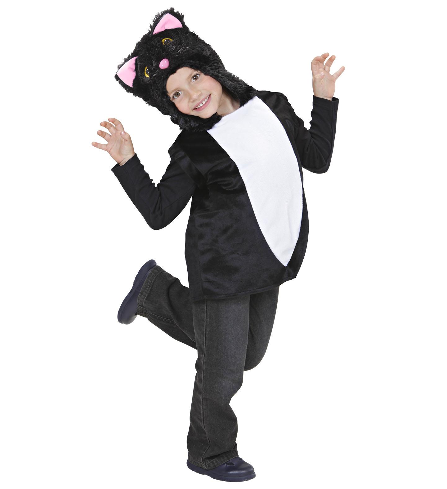 Toddler Cat Hooded Vest Costume Animal Fancy Dress