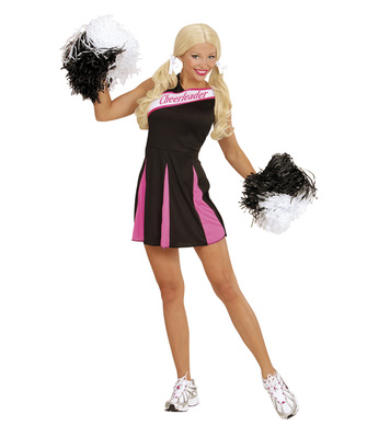 CHEERLEADER - BLACK/PINK (dress)