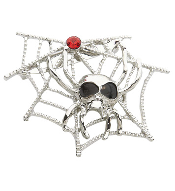 SPIDERWEB & SPIDER BROOCHES