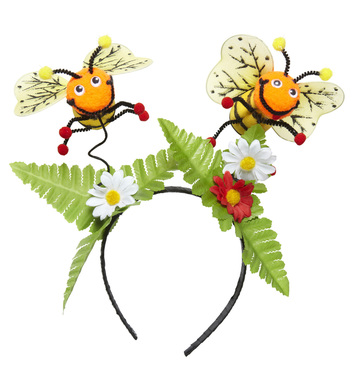 BEE HEAD BOPPERS W/FLOWERS
