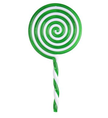LOLLIPOP 22 cm - green