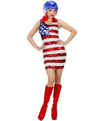 SEQUIN DRESS MISS USA