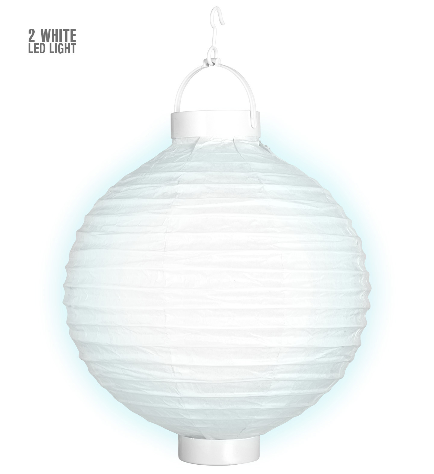 Cloth Light-Up Lampion with Led Lights 30cm Wedding Party Decoration