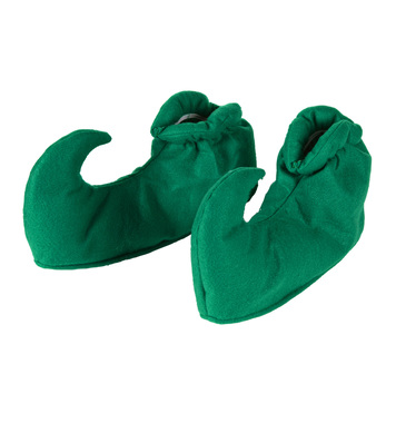 GREEN ELF SHOE COVERS