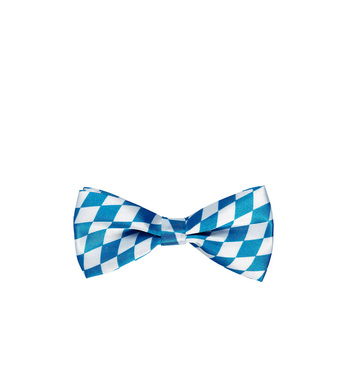 Adjustable satin BAVARIAN BOW TIE