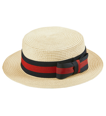 Straw DELUXE BOATER HAT