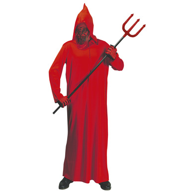 DEVIL (hooded robe mask) Childrens
