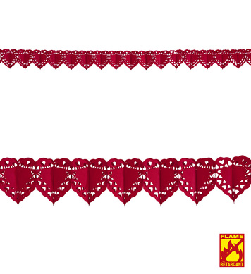 RED HEART GARLAND 4 m