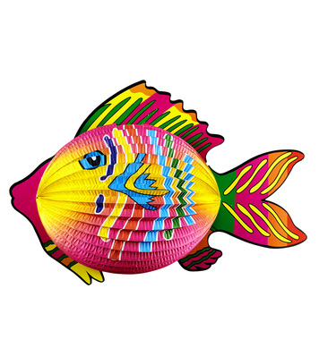 TROPICAL FISH LAMPION 40cm