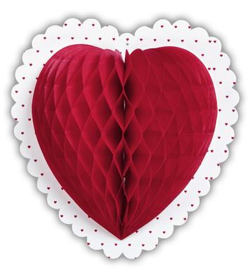 HONEYCOMB HEART Ø 25cm