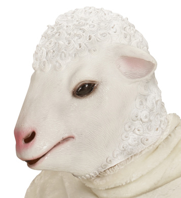 FULL HEAD MASK - LAMB
