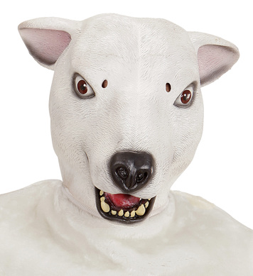 FULL HEAD MASK - POLAR BEAR