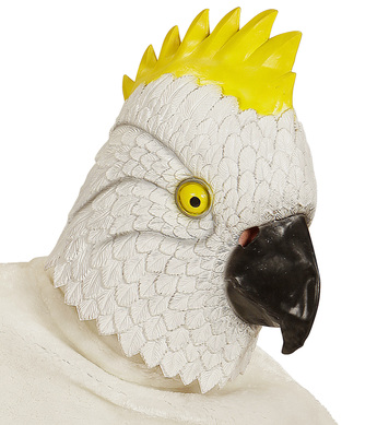 FULL HEAD MASK - CARIBBEAN PARROT