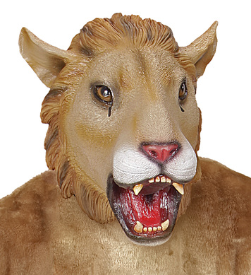 FULL HEAD MASK - LION