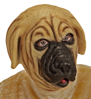 FULL HEAD MASK - DOG
