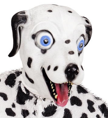 FULL HEAD MASK - DALMATION