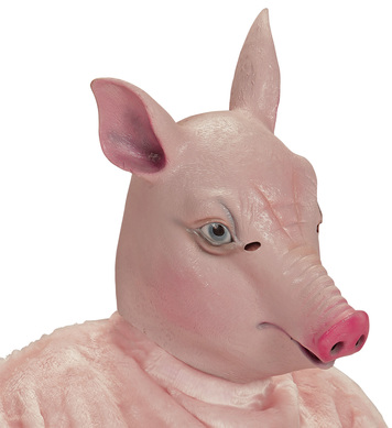 FULL HEAD MASK - PIG