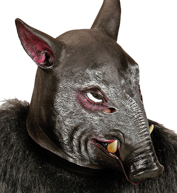 FULL HEAD MASK - WILD PIG
