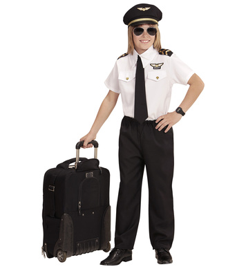 PILOT (shirt,tie,pants,hat) Childrens