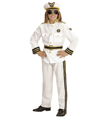 MARINE CAPTAIN (jacket,pants,belt,hat) Childrens