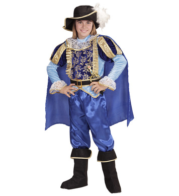 CHARMING PRINCE(158cm) (coat,pants,belt,bootcovers,cape,hat) Childrens