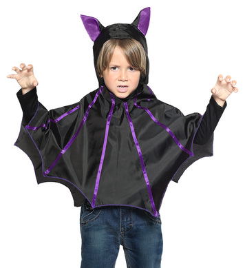 BAT (Hooded poncho) Childrens