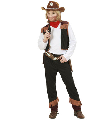 COWBOY (shirt with vest pants bandana) Childrens