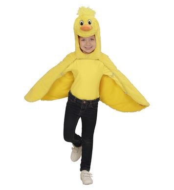 PLUSH CHICK (2-4y) (hooded winged cape mask)