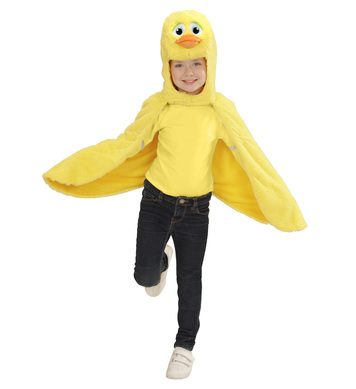 PLUSH DUCK (2-4y) (hooded winged cape mask)