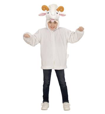 PLUSH GOAT (hoodie with mask) Childrens
