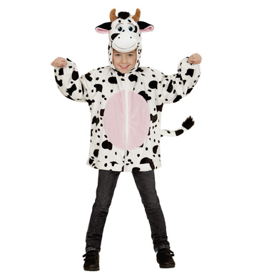 PLUSH COW (hoodie with mask) Childrens