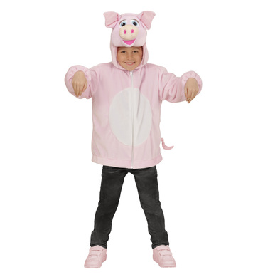 PLUSH PIG (hoodie with mask) Childrens