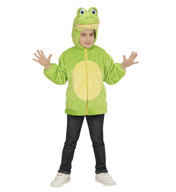 PLUSH FROG (hoodie with mask) Childrens