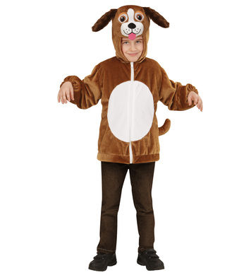 PLUSH DOG (hoodie with mask) Childrens