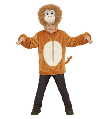 PLUSH MONKEY (hoodie with mask) Childrens