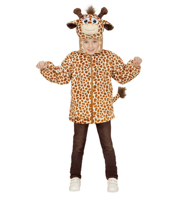 PLUSH GIRAFFE(113cm) (hoodie with mask) Childrens