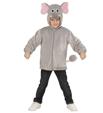PLUSH ELEPHANT (hoodie with mask) Childrens