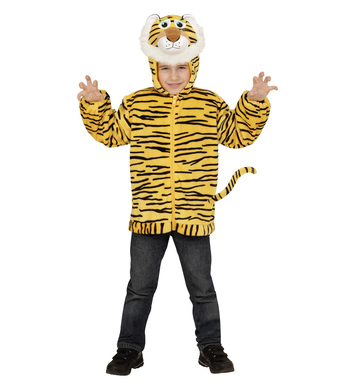 PLUSH TIGER (hoodie with mask) Childrens