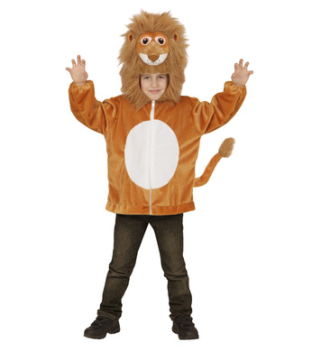 PLUSH LION (hoodie with mask) Childrens