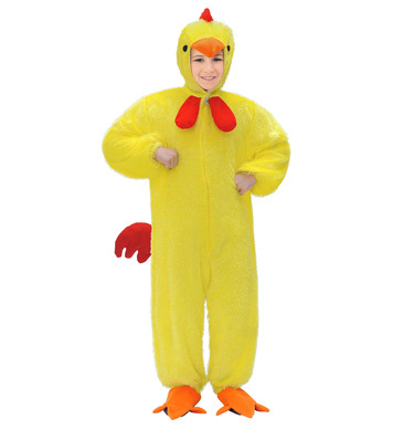 PLUSH YELLOW CHICKEN (hooded jumpsuit with mask) Childrens
