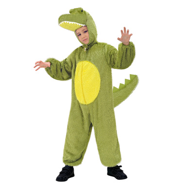 PLUSH CROCODILE (hooded jumpsuit with mask) Childrens