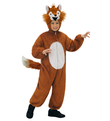 PLUSH FOX (hooded jumpsuit with mask) Childrens