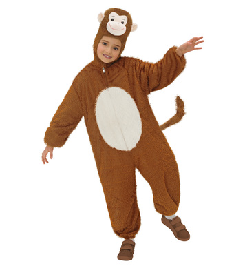 PLUSH MONKEY (hooded jumpsuit with mask) Childrens