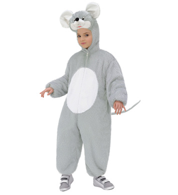 PLUSH MOUSE (hooded jumpsuit with mask) Childrens