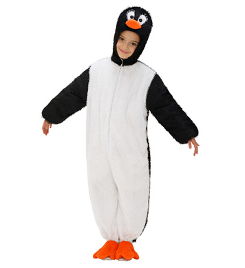 PLUSH PENGUIN (hooded jumpsuit with mask) Childrens